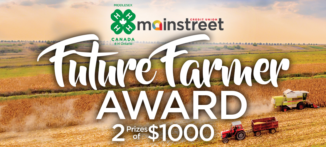 4-H & Mainstreet's Future Farmer Scholarship Rules & Regulations
