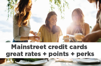 Credit cards with great rates, points and perks