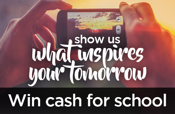 Win Cash For School